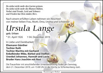 Ursula Lange