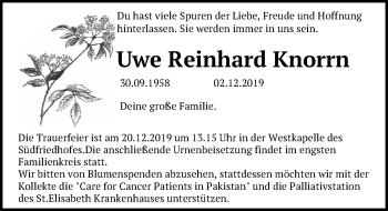 Uwe Reinhard Knorrn