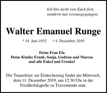 Walter Emanuel Runge