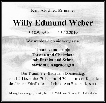 Willy Edmund Weber
