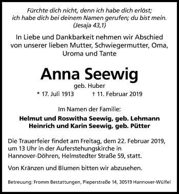 Anna Seewig