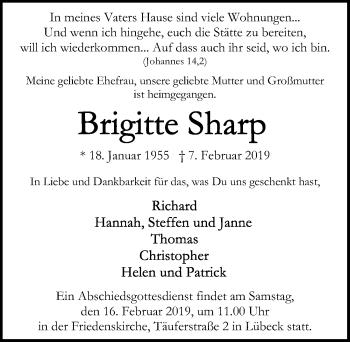 Brigitte Sharp