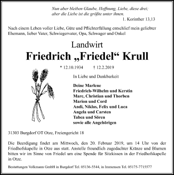 Friedrich Krull