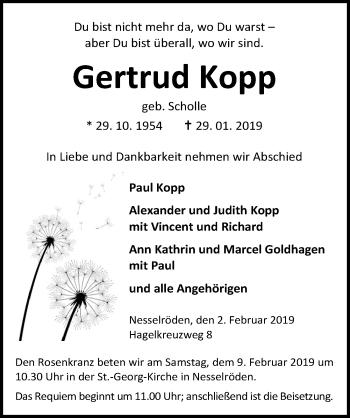 Gertrud Kopp