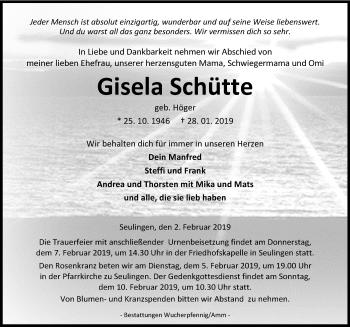 Gisela Schütte