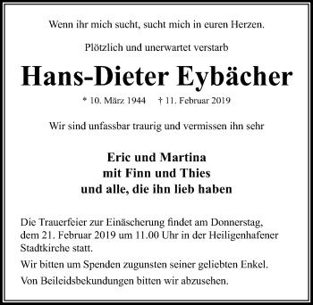 Hans-Dieter Eybächer