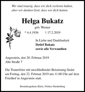 Helga Bukatz