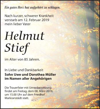 Helmut Stief