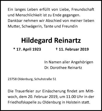 Hildegard Reinartz