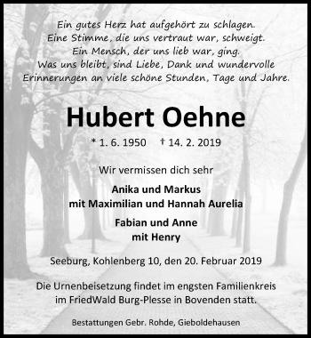 Hubert Oehne