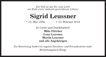 Sigrid Leussner