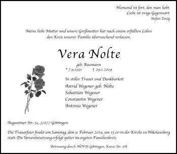 Vera Nolte