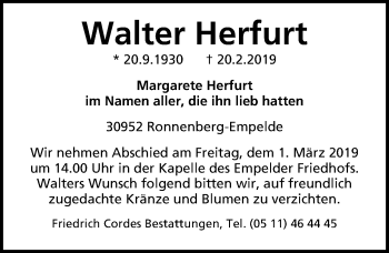 Walter Herfurt