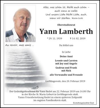 Yann Lamberth