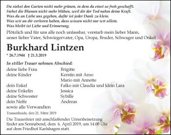 Burkhard Lintzen