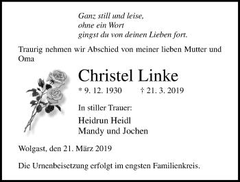 Christel Linke