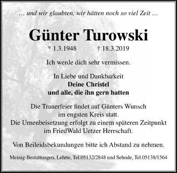 Günter Turowski