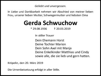 Gerda Schwuchow