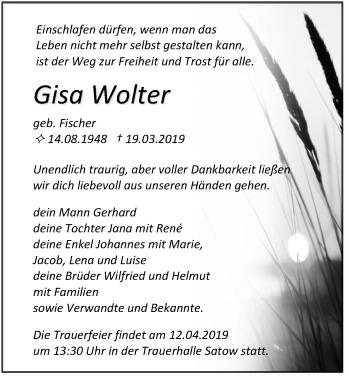 Gisa Wolter