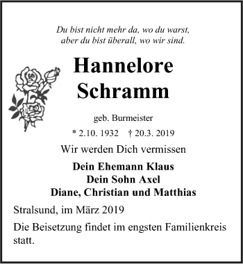 Hannelore Schramm