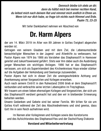 Harm Alpers