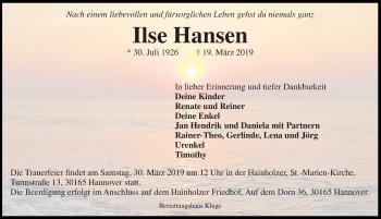 Ilse Hansen