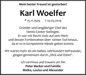 Karl Woelfer