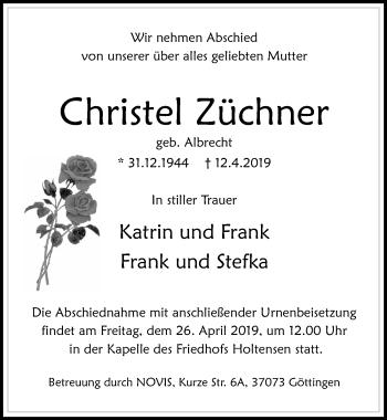 Christel Züchner