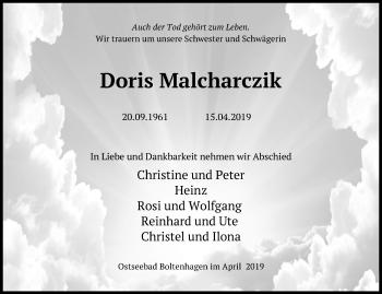 Doris Malcharczik