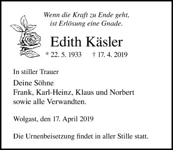 Edith Käsler