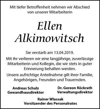 Ellen Alkimowitsch