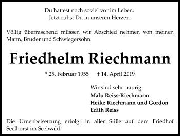 Friedhelm Riechmann