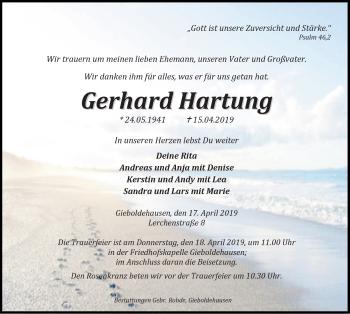 Gerhard Hartung