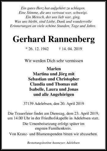 Gerhard Rannenberg
