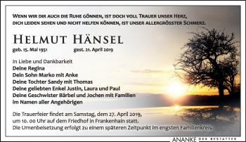Helmut Hänsel