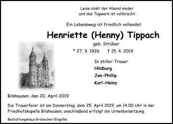 Henriette Tippach