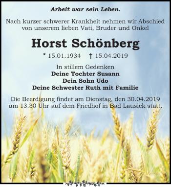 Horst Schönberg