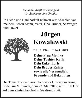 Jürgen Kowalewski
