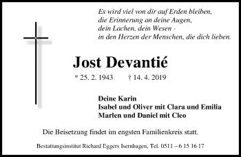 Jost Devantié