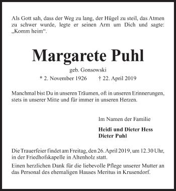Margarete Puhl