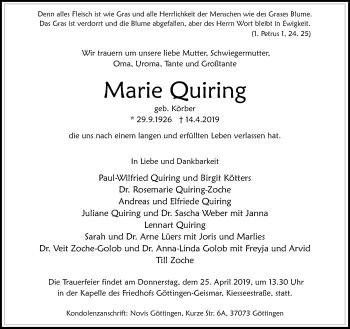 Marie Quiring