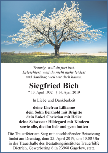 Siegfried Bich
