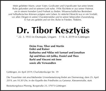 Tibor Kesztyüs