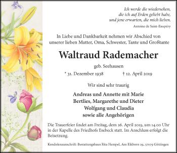 Waltraud Rademacher