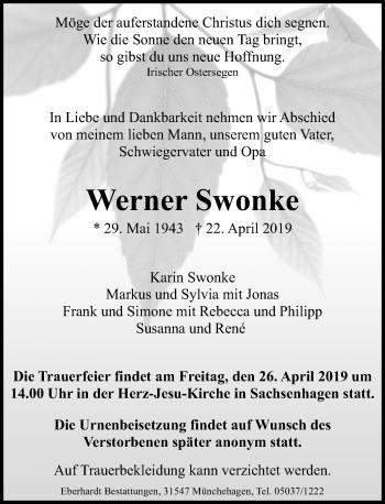 Werner Swonke