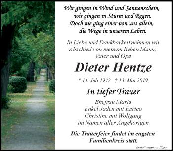 Dieter Hentze