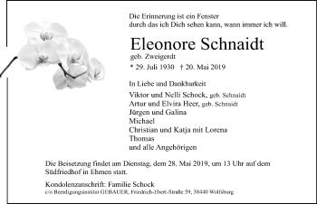Eleonore Schnaidt