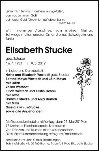 Elisabeth Stucke