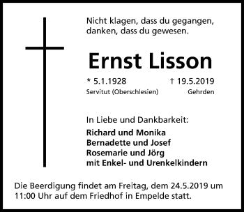 Ernst Lisson