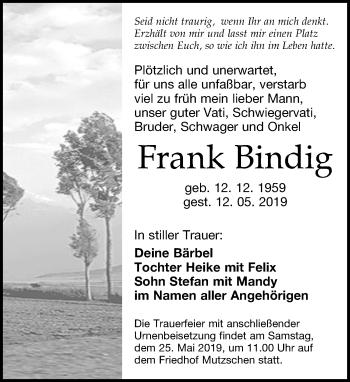 Frank Bindig